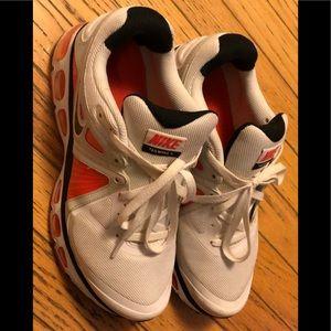 Nike AirMax Trailwind 4 White and Orange